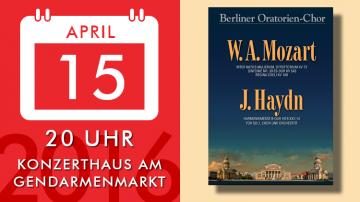 W. A. Mozart und J. Haydn