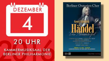 G. F. Händel – Das Alexanderfest