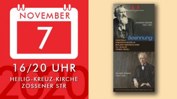 Besinnung: Gesänge und Chorwerke von J. Brahms und R. Strauss